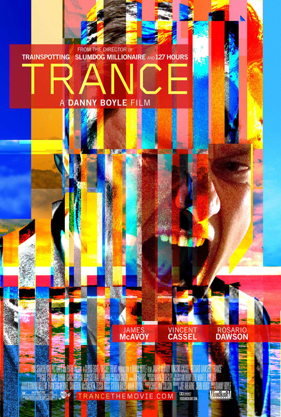 Trance the movie by director Danny Boyle